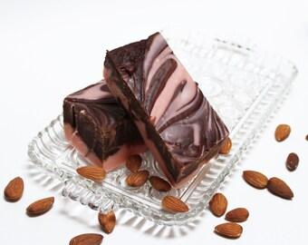 Chocolate Amaretto Fudge, a Classic Taste Treat, One Pound