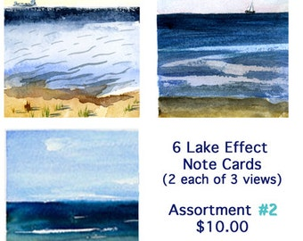 Lake Effect Note Cards Assortment 2