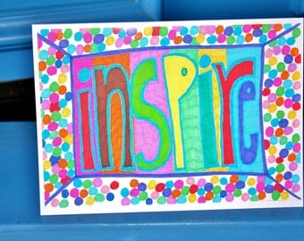 Inspire Greeting Card