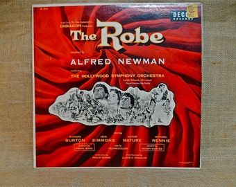THE ROBE - Original Motion Picture Soundtrack - 1953 Vintage Vinyl Record Album
