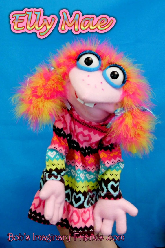Elly Mae Hand Puppet or Ventriloquist Puppet