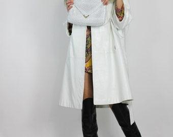 White Metal Mesh Bag Vintage 70s Purse Long Strap Cross Body Disco Clutch Shoulder Bag