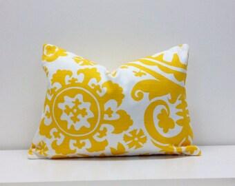 12 x 16 - Premier Prints - Suzani Slub Texture Lumbar Pillow Cover