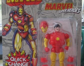 Marvel Super Heroes Action Figure Iron Man NIP ToyBiz