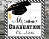 Set of 12 Personalized Favor Tags -Graduation -Thank You Tag -Gift Tag -Sticker -School -Favors -High School grad -College Graduate