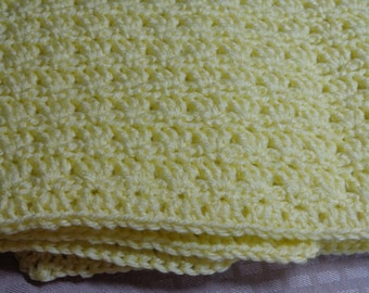 Baby Blanket in Yellow