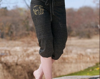too tired to argue Elephant Pants, Cropped Pants, Workout Pants, S,M,L,XL