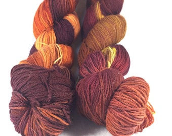 EMBER superwash merino sock yarn