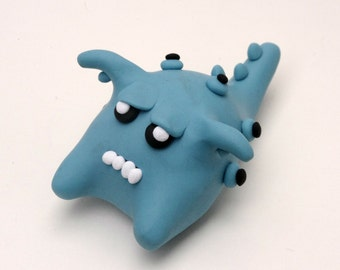 Zorell the Polymer Clay Monster