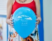 Custom Balloon Invitation - Birthday Party, Birth Announcement, Baby Shower, Bridal Shower, Save the Date, Weddings
