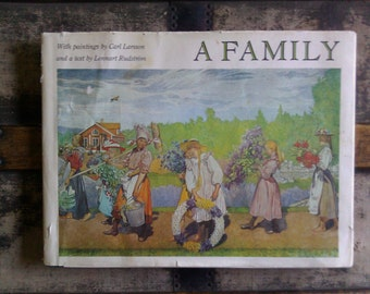Carl Larsson Book / A Family 1979