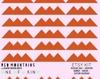 Red Mountains - ETSY KIT