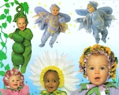 Baby or Toddler Flower Costume Pattern Simplicity 8273 (Toddler sizes 1/2,1,2,3,4)