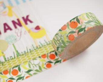 Orange Washi Tape (10M)