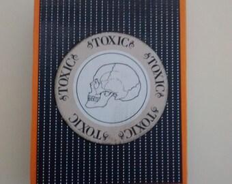 Toxic Skull Gift Card Holder