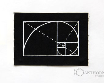 GOLDEN SPIRAL Patch
