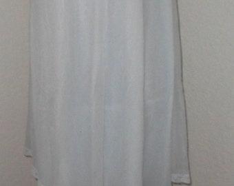 Shadowline Nightgown Chiffon Nylon Romantic Negligee Vintage