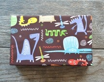 Dinosaurs Boy's Wrapping Paper, 2 Feet x 10 Feet