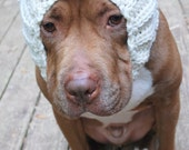 Dog Snood White Mouse MADE TO ORDER