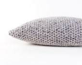 Chunky Wool Cushion Cover Chunky Knit Wool Pillow Cover Grey Chunky Knitted Cushion Grey Wool Cushion Chunky Knitted Pure Wool Grey Cushion