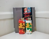 Original Mario and Luigi Perler Bead LIGHTER CASES - nintendo - 8 bit - pixels