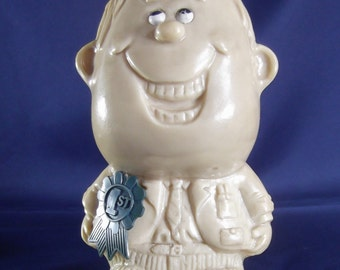 Russ Berries World's Best Father Circa 1970 Collectible Statue Figurine