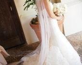"Wedding veils long cathedral veils 80"",90"" 108"" 120"""