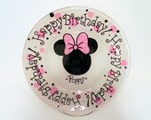 Minnie Happy Birthday Plate