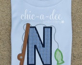 Personalized Boy's Fishing Alpha