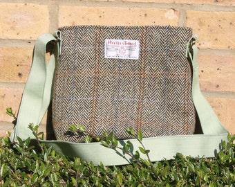Harris Tweed bag, crossbody bag, Tweed purse, Harris tweed cloth