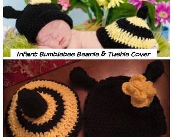 Sweet Baby Bumblebee Photo Prop