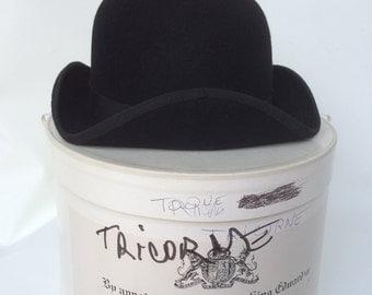 Vintage Gélot tricorn women hat