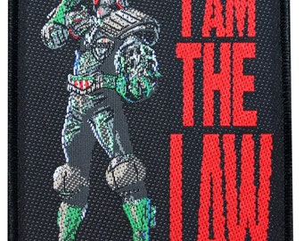 """Song Art """"Anthrax: I Am The Law"""" Single Thrash Metal Band Sew On Applique Patch"""