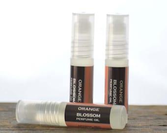 Orange Blossom Perfume Oil Roll On - orange blossom perfume oil - floral perfume oil - summer perfume - feminine perfume