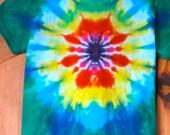 Tie Dye Infant and Toddler  Mandala T-Shirt