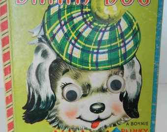 DANNY DOG, A Bonnie Blinky Book, 1950, Edith Reichman, Samuel Lowe Company, Fair to Good Condition