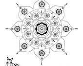 Shanti Gypsy Mandala-Star...