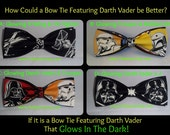 NEW Glow In the Dark BowTies Made From Star Wars Fabrics - Four Great Looking, Fun Ties to Choose From - U.S.SHIPPlNG 1.99, NEVER M0RE