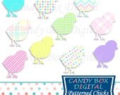 Easter Chick Clipart, Chick Clip Art, Easter Clipart, Easter Clip Art, Spring Clipart, Spring Clip Art - Commercial Use OK