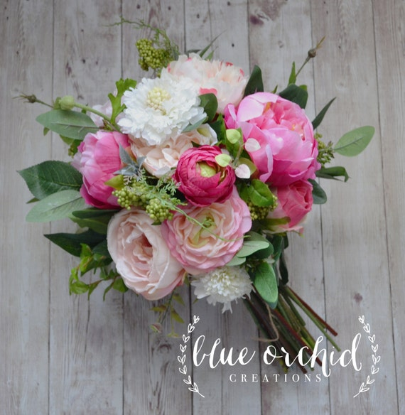 Wild Flower Wedding Bouquet: Wedding Bouquet Peony Bouquet Garden Bouquet Wildflowers