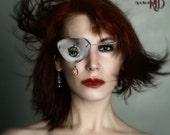 Scrapped Princess Eyepatch. OOAK eyewear.
