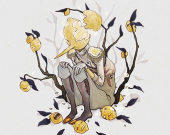 Coey: Lemongrab Print