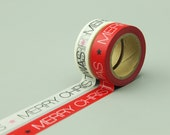 2 Rolls Washi Tapes - Japanese Washi Tape - Masking Tape - Deco Tape - Filofax - Gift Wrapping - NMTS077