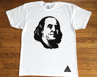 Ben Franklin T Shirt Etsy