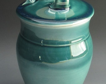 Kitchen Cannisters in Homemade, Cermamic Cannister in Homemade, Ceramic Lidded Jar, Ceramic Candy Jar, Kitchen Cannister