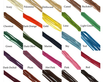 30Feet Faux Suede Cord Leather Lace 3mm for Jewelry & Crafts You Choose Color