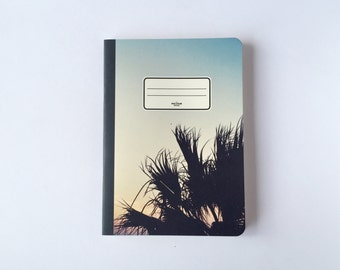 Sunset Notebook - Journal - Sketchbook - Blank pages - Lined pages