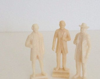 Vintage 1950's Kellogg Cereal Toy Collectible -  Historic Plastic Figures -  Kellogg Cereal Premiums - 1950's Collectibles