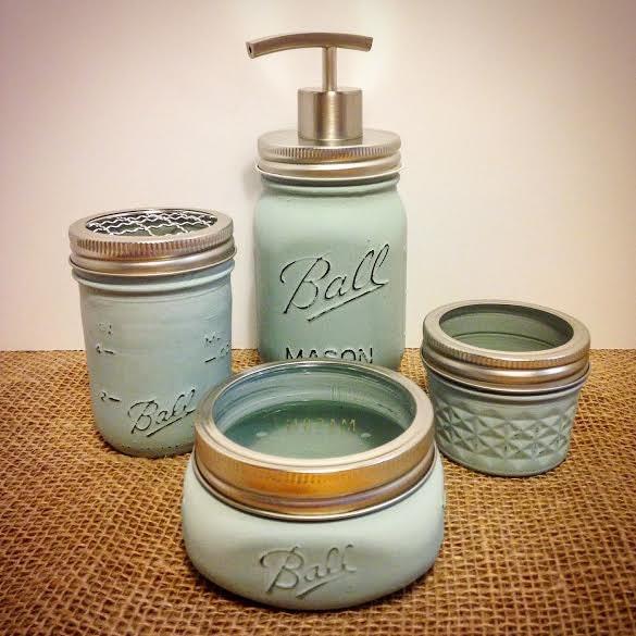 bathroom accessories jar bathroom set 5pc jar