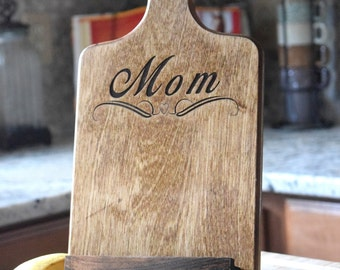 Personalized Tablet Holder   Kitchen Tablet Stand   Wooden Tablet Stand    Cookbook Holder   IPad